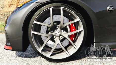 GTA 5 Nissan 370Z Nismo Z34 2016 [add-on] hinten rechts