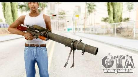 Lewis Machinegun für GTA San Andreas dritten Screenshot
