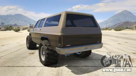 GTA 5 Off-roading Rancher dritten Screenshot