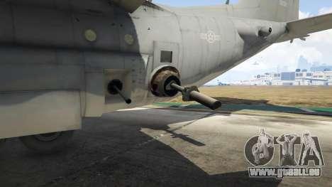 GTA 5 AC-130U Spooky II Gunship zehnte Screenshot