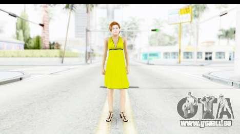 Margot Robbie pour GTA San Andreas deuxième écran