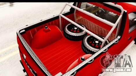 Dacia Duster Pickup für GTA San Andreas Seitenansicht
