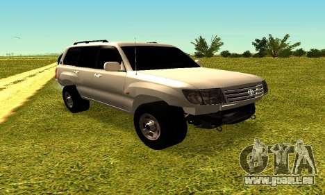 Toyota Land Cruiser 105V pour GTA San Andreas