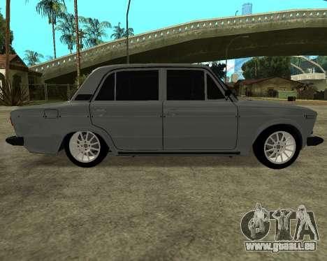 VAZ 2106 Armenischen für GTA San Andreas linke Ansicht
