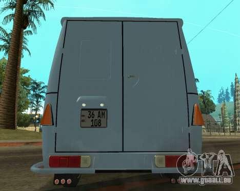 Moskvich 2715 Arménien pour GTA San Andreas