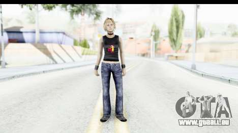 Silent Hill 3 - Heather Sporty Black Pennywise R für GTA San Andreas zweiten Screenshot