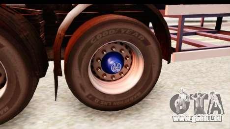 Trailer ETS2 v2 Nr. 1 pour GTA San Andreas vue arrière