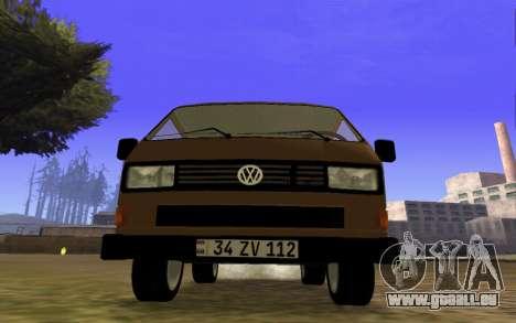 Volkswagen Transporter T-3 Armenian für GTA San Andreas linke Ansicht