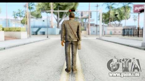 I Am Legend - Will Smith v2 Fixed pour GTA San Andreas troisième écran