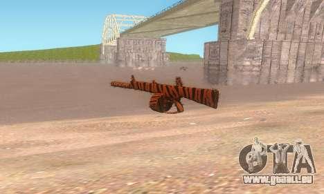 AA-12 für GTA San Andreas zweiten Screenshot
