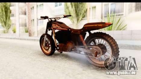 GTA 5 Western Cliffhanger Custom v1 pour GTA San Andreas laissé vue