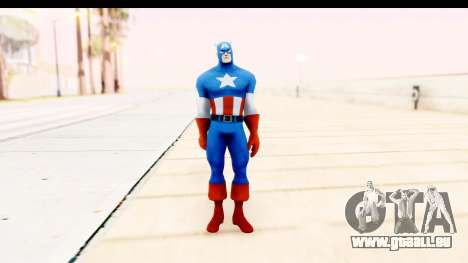 Marvel Heroes - Captain America für GTA San Andreas zweiten Screenshot