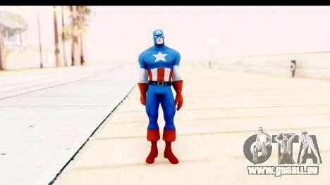 Marvel Heroes - Captain America für GTA San Andreas zweiten Screenshot