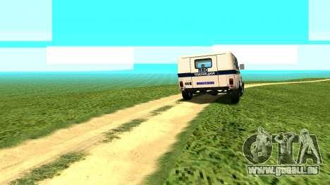 Les effets Standard sans poussière pour GTA San Andreas quatrième écran