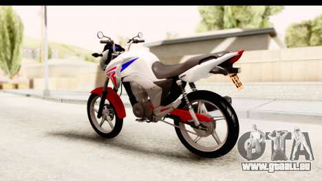 Honda CG150 pour GTA San Andreas laissé vue