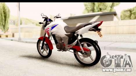 Honda CG150 für GTA San Andreas linke Ansicht