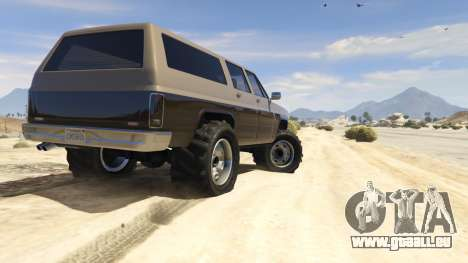 GTA 5 Off-roading Rancher fünfter Screenshot
