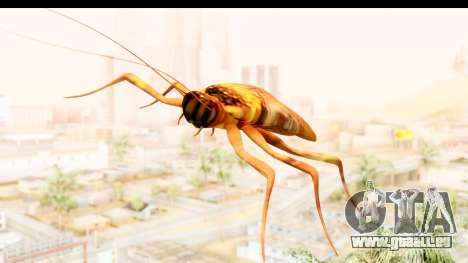 Flying Cockroach pour GTA San Andreas sur la vue arrière gauche