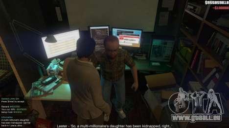 GTA 5 Story Mode Heists [.NET] 1.2.3 sixième capture d'écran