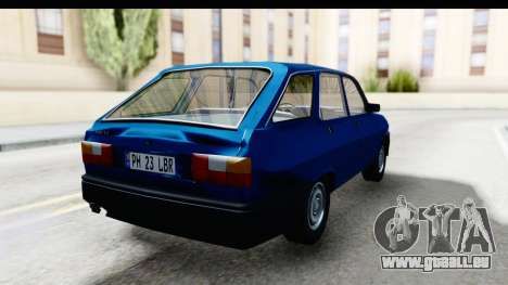Dacia Liberta pour GTA San Andreas vue de droite