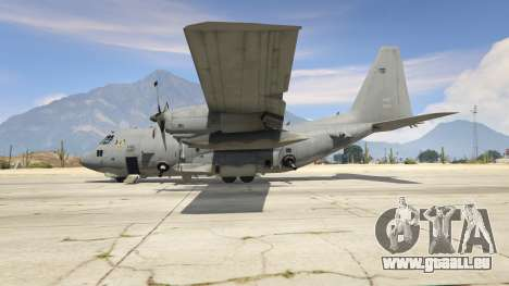GTA 5 AC-130U Spooky II Gunship troisième capture d'écran