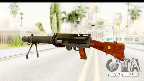 Lewis Machinegun pour GTA San Andreas deuxième écran