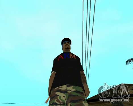 New Armenian Skin pour GTA San Andreas neuvième écran