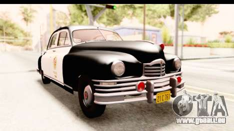 Packard Standart Eight 1948 Touring Sedan LAPD für GTA San Andreas rechten Ansicht