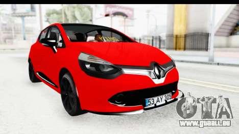 Renault Clio Four Air für GTA San Andreas