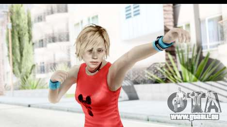 Silent Hill 3 - Heather Sporty Red Mickey Mask für GTA San Andreas