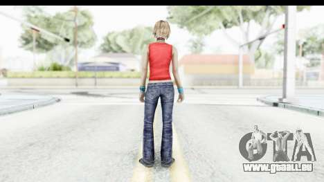Silent Hill 3 - Heather Sporty Red Mickey Mask pour GTA San Andreas troisième écran