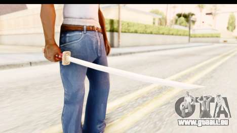 Bleach - Rukia Weapon pour GTA San Andreas