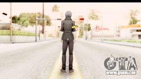 Persona 4: DAN - Yu Narukami Default Costume pour GTA San Andreas troisième écran