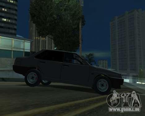 Vaz 21099 ARMNEIAN für GTA San Andreas rechten Ansicht