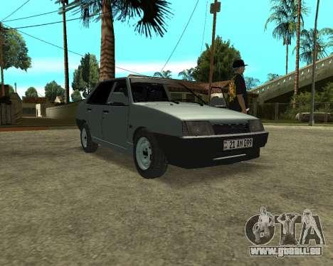 Vaz 21099 ARMNEIAN für GTA San Andreas