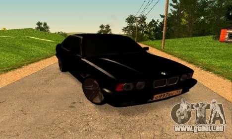 BMW 5-er E34 für GTA San Andreas rechten Ansicht