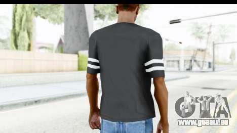 Adidas 03 T-Shirt pour GTA San Andreas troisième écran