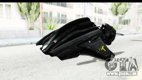 Spectre Hoverbike pour GTA San Andreas vue de droite