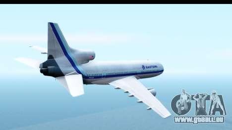 Lockheed L-1011-100 TriStar Eastern Airlines pour GTA San Andreas vue de droite