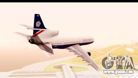 Lockheed L-1011-100 TriStar British Airways für GTA San Andreas rechten Ansicht