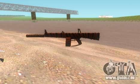 AA-12 für GTA San Andreas her Screenshot