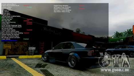 GTA 5 Simple Trainer v4.0 troisième capture d'écran