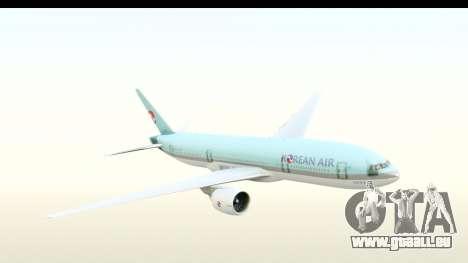 Boeing 777-200ER Korean Air für GTA San Andreas