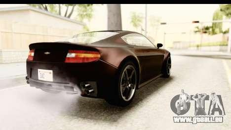 GTA 5 Dewbauchee Rapid GT SA Style pour GTA San Andreas laissé vue