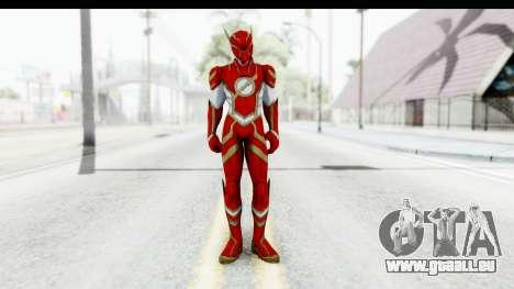 Flash Hypersonic (INFINITE CRISIS) pour GTA San Andreas deuxième écran
