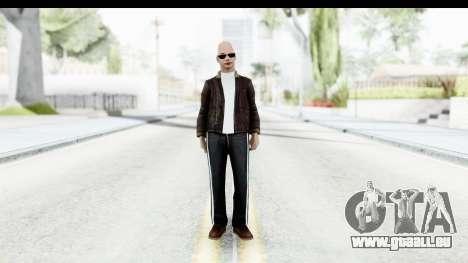 Gopnik pour GTA San Andreas deuxième écran