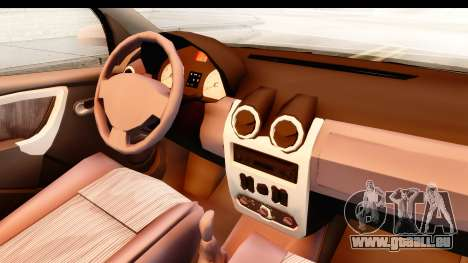 Dacia Logan Facelift Ambulanta v2 für GTA San Andreas Innenansicht
