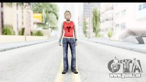 Silent Hill 3 - Heather Sporty Red Mickey Mask für GTA San Andreas zweiten Screenshot
