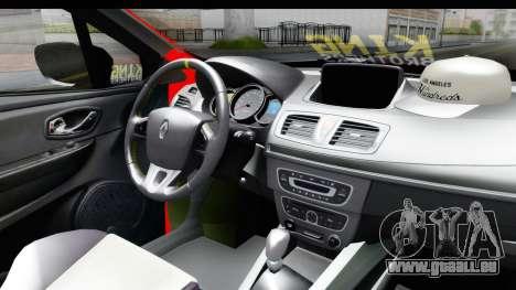 Renault Clio Four Air pour GTA San Andreas vue de droite
