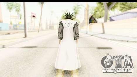 Bleach - Zaraki für GTA San Andreas dritten Screenshot